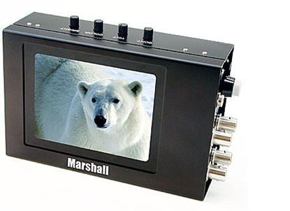 Bild von V-LCD4-PRO-L 4' High resolution active matrix color LCD monitor