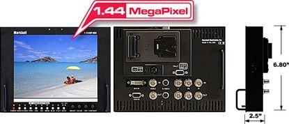 Immagine di V-R84DP-HDA Stand alone 8.4' LCD Monitor with HDA + DVI/VGA inputs