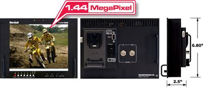 Immagine di V-R84DP-HDSDI Stand alone 8.4' LCD Monitor with HDSDI input