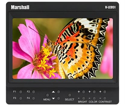 "Bild von V-LCD51 5"" Small 800 x 480 Camera-Top / Portable Field Monitor with HDMI"