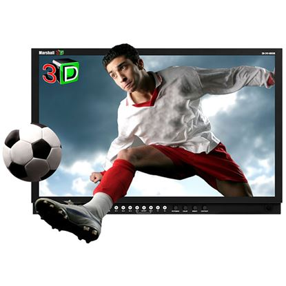 Bild von 3D-241-HDSDI 24' 3D Monitor with Dual HDSDI Inputs two L/R Sources