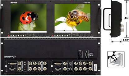 Picture of V-R82SB-AFHD Dual 8.4' Outdoor HD monitor set with Advanced Features