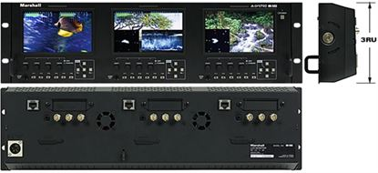 Picture of OR-503 Triple 5' Rack Mount Monitor