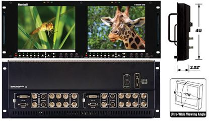 Picture of V-R842DP-AFHD Dual 8.4' High Resolution HD monitor set with Advanced Features