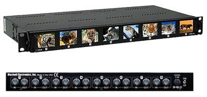 Picture of V-R28P-SDI 2.0' X 8 LCD Rack Mnt. Panel, SDI version