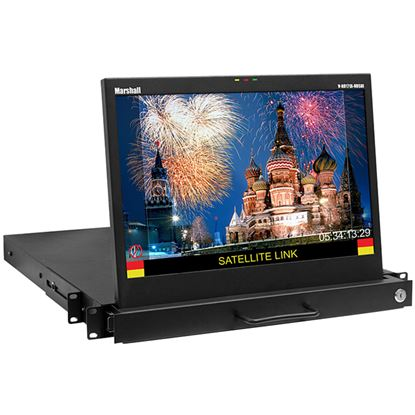 Picture of V-RD171X-IMD-HDSDI 17' Native HD Resolution Rack Drawer LCD Rack Mount Monitor with IMD Function