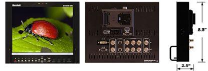 Bild von V-R1041DP-AFHD 10.4' LCD High Resolution HD/SD monitor with Advanced Features