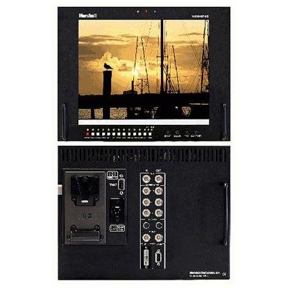 Bild von V-R104DP-SD Stand alone 10.4' LCD Monitor with Multiformat inputs