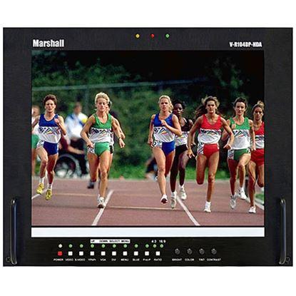 Bild von V-R104DP-HDA Stand alone 10.4' LCD Monitor with HDA + DVI/VGA inputs