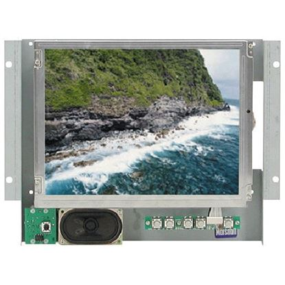 Immagine di V-LCD10.4-P 10.4' active matrix color LCD panel with wall mounting & audio